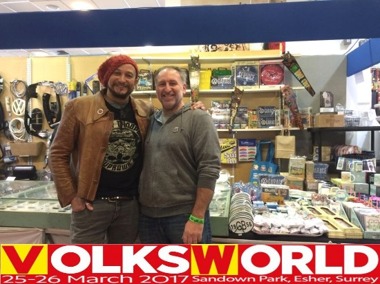 chris and fuss (car sos) at volksworld 2017